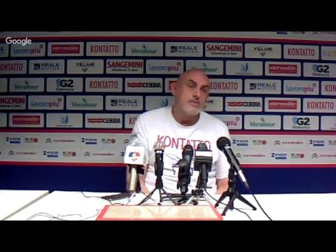 A2 Playoff – Semifinale Gara5, Boniciolli pre match Trieste