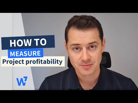 How to measure project profitability