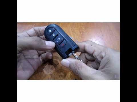 Cara menukar bateri keyless remote MYVI.