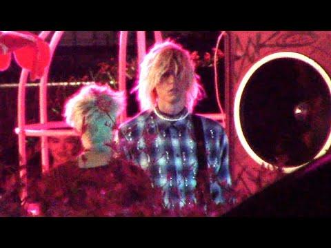 Machine Gun Kelly Films Music Video With Jaden Hossler And Travis Barker