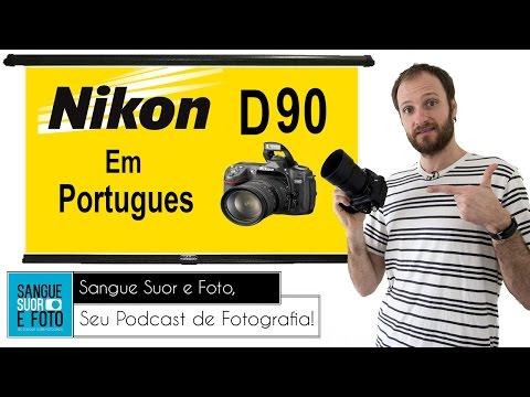 Review Nikon D90 em Portugues