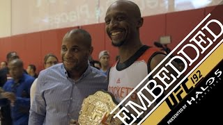 UFC 192 EMBEDDED Ep4
