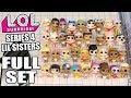 Lol Surprise Series 4 Lil Sisters Full Set L O L Wave 1