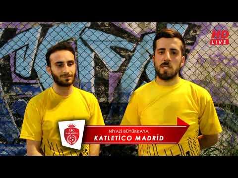 Katletico Madrid - EsertepeGücü FK  Katletico Madrid-EsertepeGücü FK Basın Toplantısı