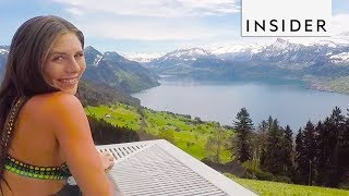 People are obsessed with this Swiss Alps infinity pool. Follow the resort on Instagram: https://www.instagram.com/d.thorsen/ The INSIDER team believes that life ...