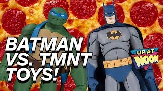 Batman Vs. Teenage Mutant Ninja Turtles Gets DC Collectibles Action Figures - Up At Noon by IGN