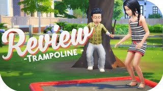 THE SIMS 4 //  TRAMPOLINES | CHILD AND TODDLER FRIENDLY! 👧