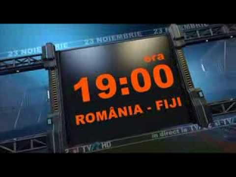 Rugby: România - Fiji, în direct la TVR2