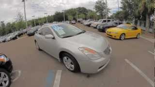 Autoline's 2008 Nissan Altima 2.5 S Walk Around Review Test Drive
