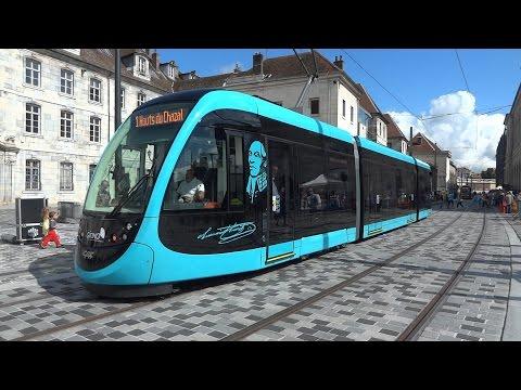 Tramway de Besançon - Premier jour
