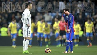 Lionel Messi was La Liga's 2016/17 top scorer, Cristiano Ronaldo was La Liga's 2016/17 champion. But who was individually better and who helped his team more? It is not only about the amount of goals, it is more about the way they scored the goals. In this video you will see the difference between the to superstars!Facebook: https://www.facebook.com/magicalmessithechannel/Music:Johannes Bornlöf - Imperious 2Per Kiilstofte - Battle of the TitansJohannes Bornlöf - Intense Thrill 4Johannes Bornlöf - Imperious 1Lionel Messi - All 37 goals (FC Barcelona. Season 2016/2017)Cristiano Ronaldo - All 25 goals (Real Madrid, Season 16/17)MagicalMessi - as Magical as Messi!