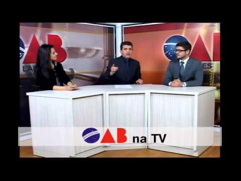 OAB NA TV 31 07 2015