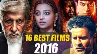 16 BEST Bollywood Movies of 2016 Video
