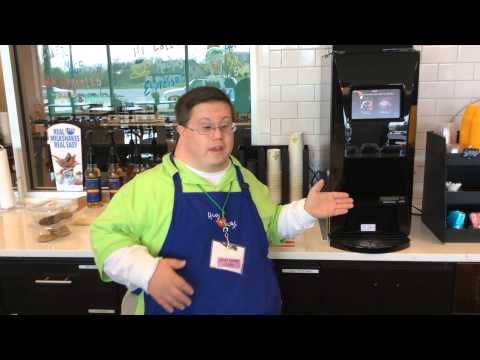 Watch video Hugs+Mugs Mentor explains his new coffee machine