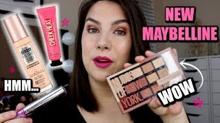 NEW MAYBELLINE 2020... What's Great & What's Just MEH. by Beauty Broadcast