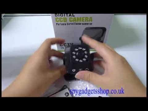 Surveillance Video Recording CCTV Camera DVR Home Security Camera With Motion Detection
