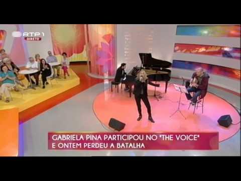 Gabriela Pina na Praça da Alegria - RTP1