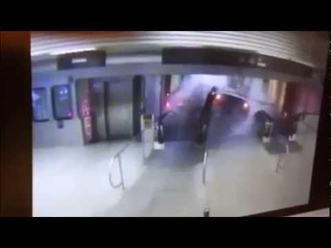 WATCH: CTA Blue Line Derail CRASH VIDEO at O'Hare