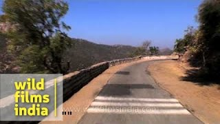 Alwar India  city photos gallery : Drive from Alwar city to Bala Qila : Rajasthan