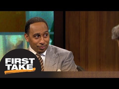 Stephen A. Smith: LeBron James would make Lakers 'a show again'  First Take  ESPN