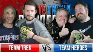 Trek Vs. Heroes - Movie Trivia Team Schmoedown