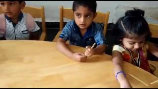class room activity (by nursery kids)