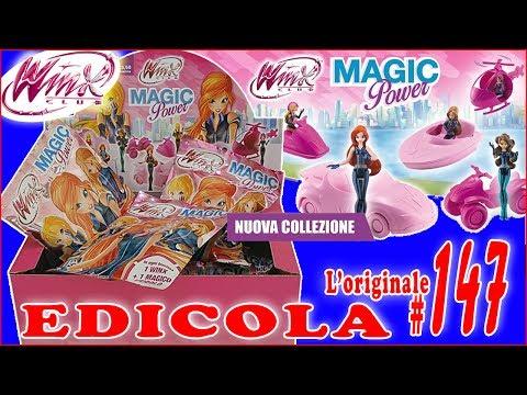 EDICOLA #147: WINX MAGIC POWER Pacco NUOVA COLLEZIONE con 10 bustine (Unboxing by Giulia Guerra) (видео)