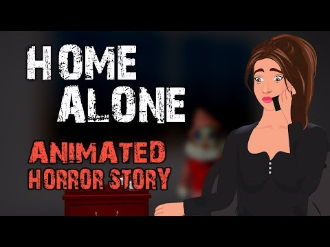 HOME ALONE Horror Story Animated (English)