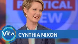 Video Cynthia Nixon On Whether 'Sex And The City' Fame Will Help Or Hurt Her Candidacy | The View MP3, 3GP, MP4, WEBM, AVI, FLV Juni 2018
