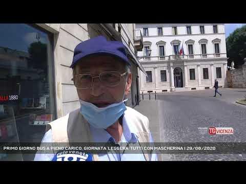 PRIMO GIORNO BUS A PIENO CARICO, GIORNATA 'LEGGERA' TUTTI CON MASCHERINA | 29/06/2020