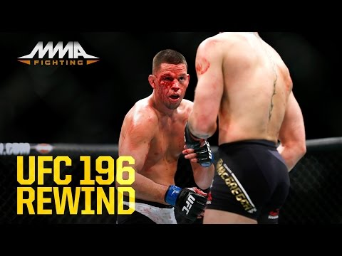 UFC 196 Rewind: Nate Diaz Submits Conor McGregor