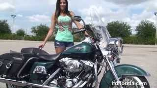 8. Used 2002 Harley Davidson Road King Classic Motorcycles for sale