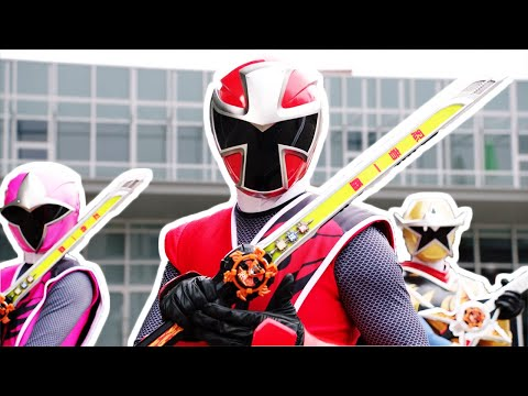 Car Trouble   Super Ninja Steel   Power Rangers Official