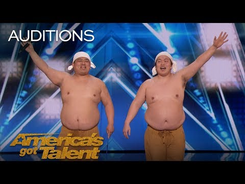 Yumbo Dump: Comedic Duo Makes Unbelievable Sounds With Their Bodies - America's Got Talent 2018