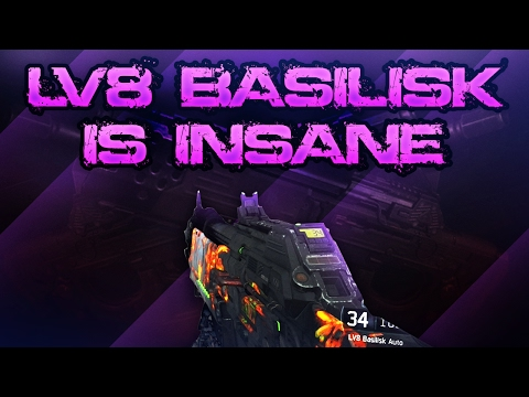 COD BO3 SnD - LV8 Basilisk Is INSANE...