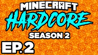 • NEW NETHER MOBS, ENTERING THE NETHER!!! - Minecraft: HARDCORE s2 Ep.2 (Gameplay / Let's Play)