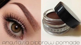Video How To Use ABH Dipbrow Pomade (Eyebrow Tutorial) MP3, 3GP, MP4, WEBM, AVI, FLV Agustus 2018