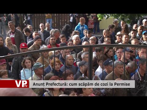 Anunț Prefectură: cum scăpăm de cozi la Permise