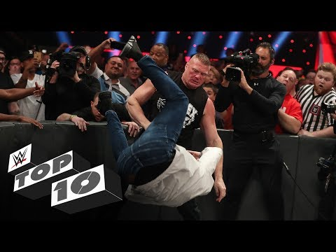 Family members attacked: WWE Top 10, Nov. 6, 2019