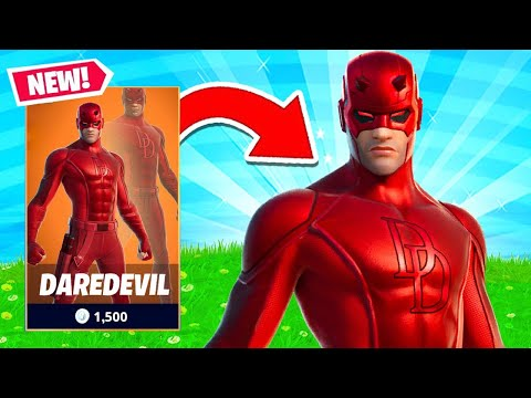DAREDEVIL Skin OUT NOW! Fortnite Custom Games with Viewers!