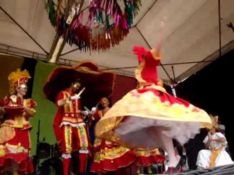 Balé Popular Papanguarte 2010 em Bezerros - PE - CARNAVAL