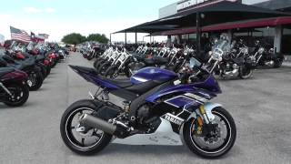 8. 029459 - 2013 Yamaha YZF R6 - Used motorcycles for sale