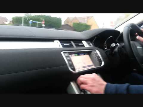 Evoque Test Drive 2.2 Automatic 2013 model