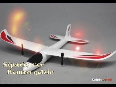 Uzaktan Kumandalı Sağlam Model Uçak