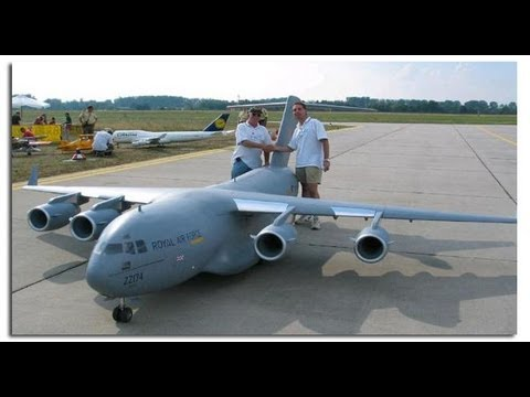 NEW BIGGEST RC AIRPLANE IN THE WORLD C-17