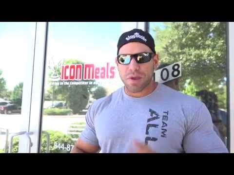 Steve Kuclo Makes A Trip To Icon Meals
