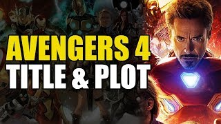 Avengers 4 Title: I FIGURED IT OUT!!!!!