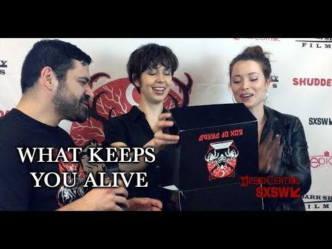 SXSW 2018 Interview Brittany Allen and Hannah Emily Anderson - What Keeps You Alive