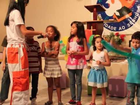 I Cultinho NazaKids na Igreja do Nazareno em Sobradinho