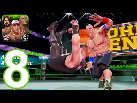 WWE Mayhem - Gameplay Walkthrough Part 8 - Season 4 (iOS, Android)